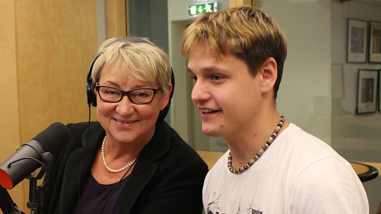 Ines Uusmann och Niklas Karlsson. Foto: Leif Jönsson/Sveriges Radio