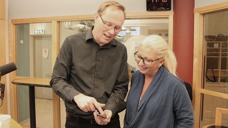 Martin Jönsson och Helene Persson