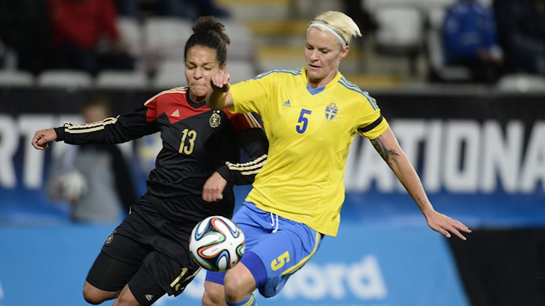 Nilla Fischer, fotboll. Foto:Pontus Lundahl/TT