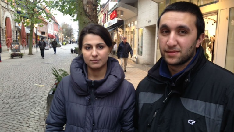 Jamila Khadr och Shamo Said. Foto: Josefin Modig/Sveriges Radio