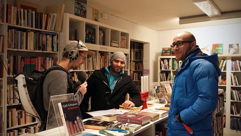 Salah Dabbas och Hossam Kitmittho