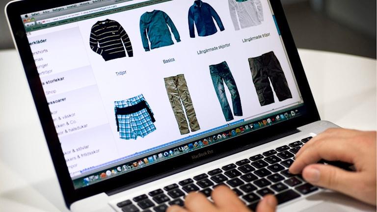 e-handel via dator