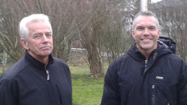 Kicke Nilsson och Staffan Ahlandsberg.
