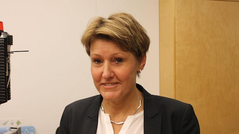Maria Holmgren, tillförordnad trafikdirektör Skånetrafiken.