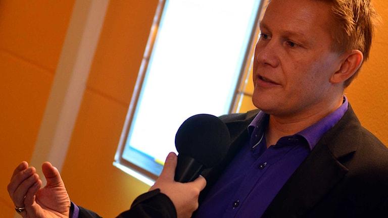 Martin Persson. Foto: Per Lundberg/Sveriges Radio