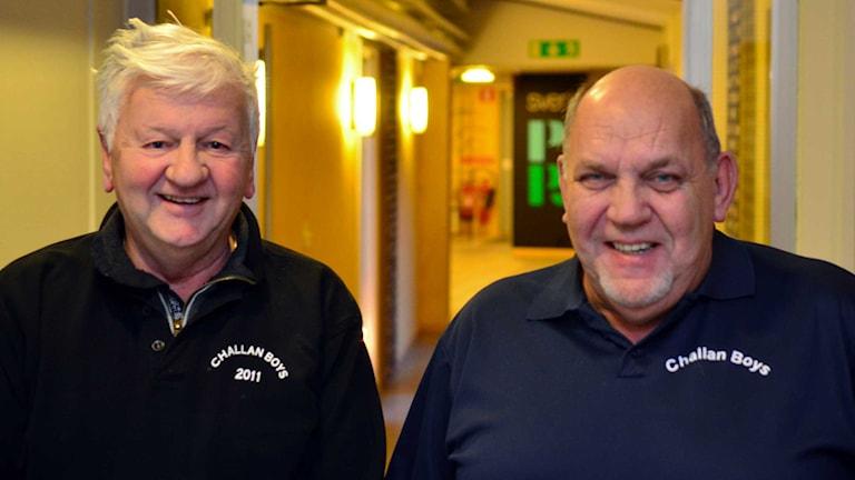 Bo Juhlin & Anders Zackrés. Foto: Per Lundberg/Sveriges Radio