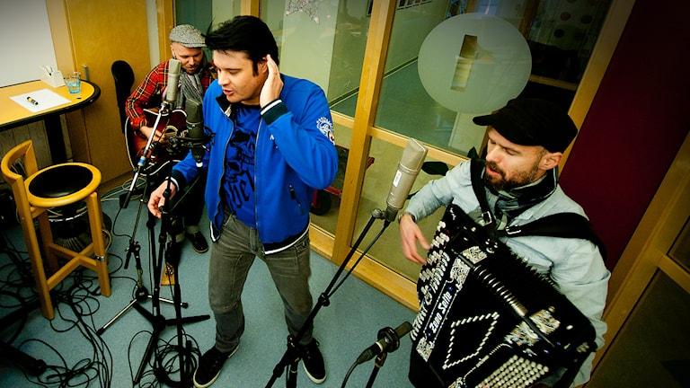 Henrik Åberg, Mikael Westman och PJ Altin