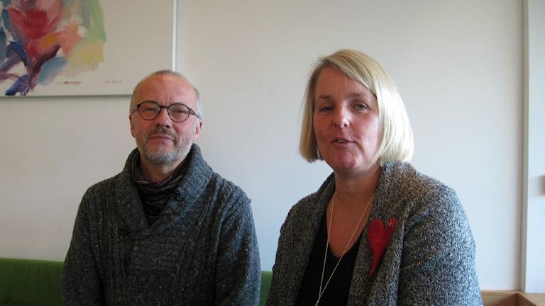 Bert-Inge Karlsson och Maria Selway