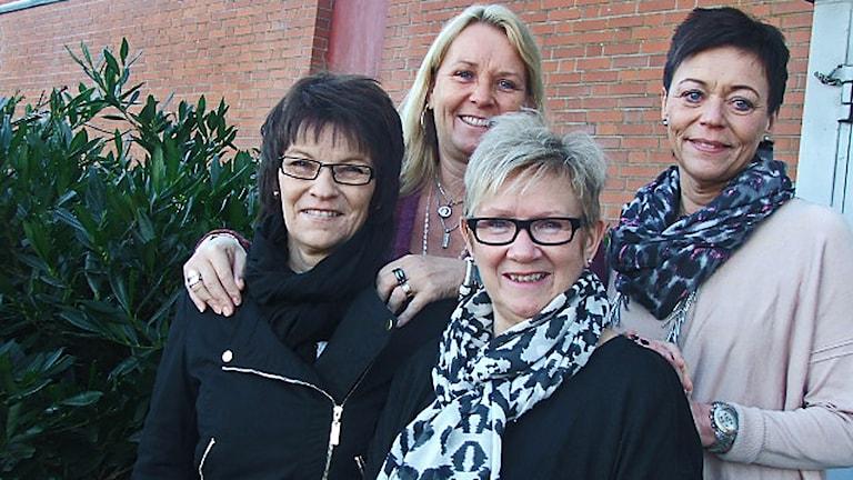 Kristina, Cilla, Ingela och Karin