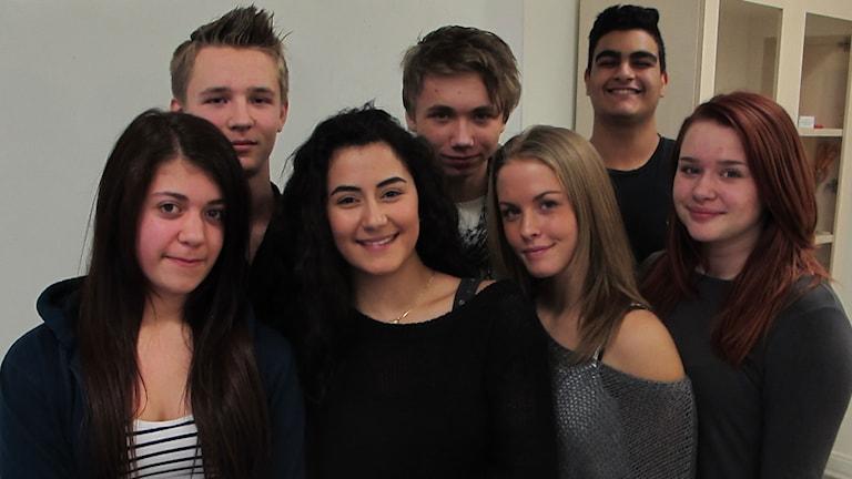 Elever från Kunskapsskolan i Helsingborg.