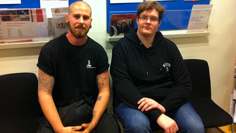 Filip Stoops och Viking Markoff på Ams i Kristianstad