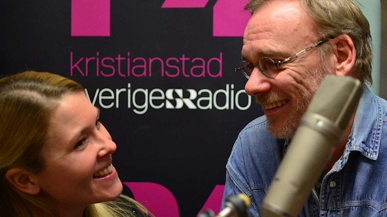 Jenny & Per Erik. Foto: Per Lundberg/Sveriges Radio