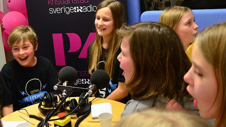 Kiaby tog hem segern. Foto: Per Lundberg/Sveriges Radio