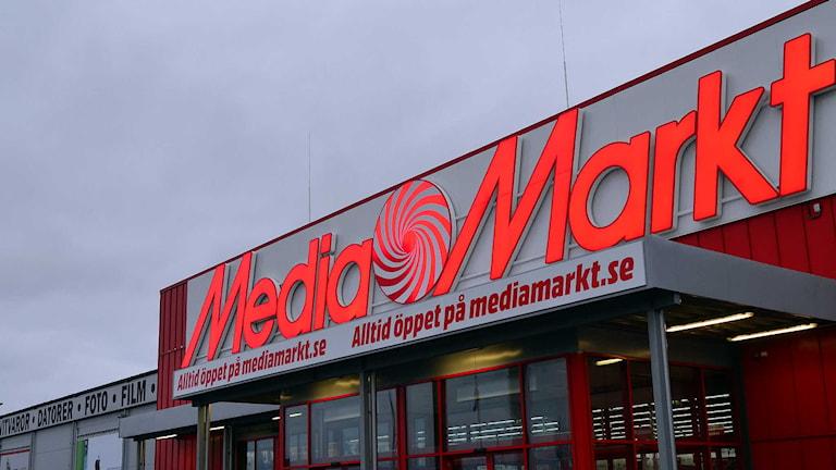 Media Markt. Foto: Per Lundberg/Sveriges Radio