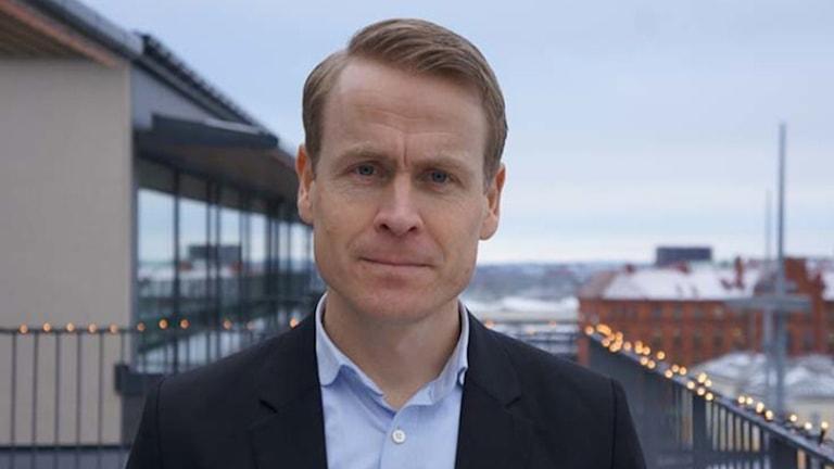 Linus Eriksson, ny trafikdirektör för Skånetrafiken
