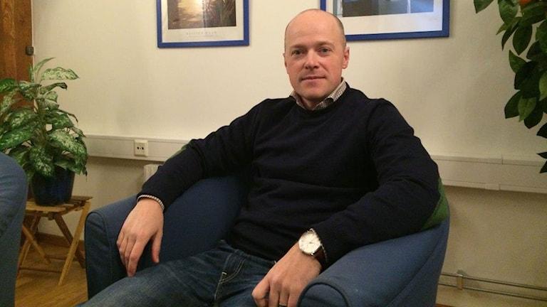 Henrik Möndell, familjehemsrekryterare i Helsingborg