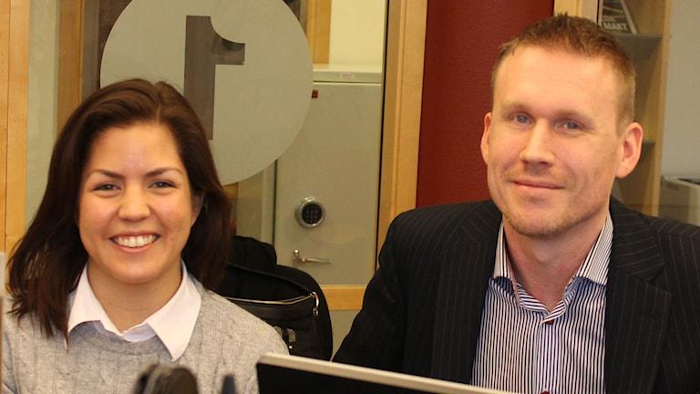 Jane Ljungkvist och Anders Nilsson