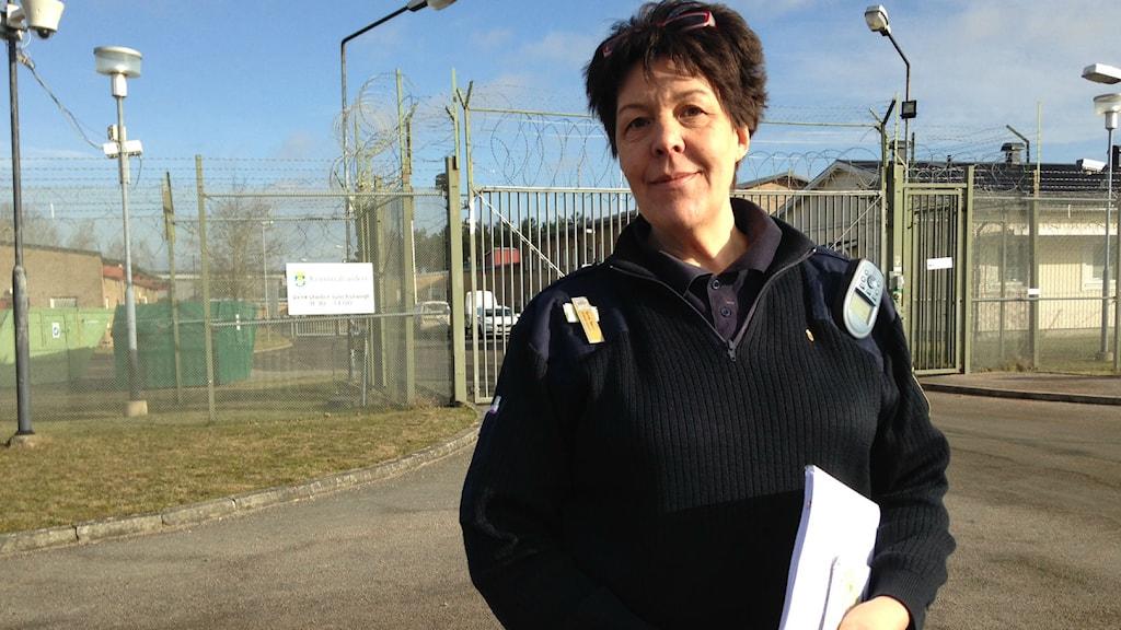 Birthe Bekke jobbar på ungdomsanstalten utanför Vä