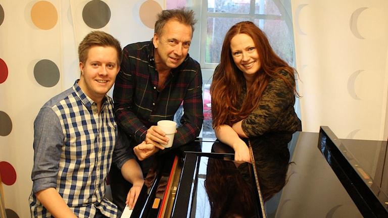 Schlagerpanelen, Niklas Larsson, Janne Bark och Annikafiore