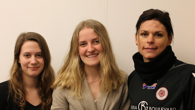 Sportpanelen: Isabelle Bengtsson, Lisa Kringstad och Susanne Moberg