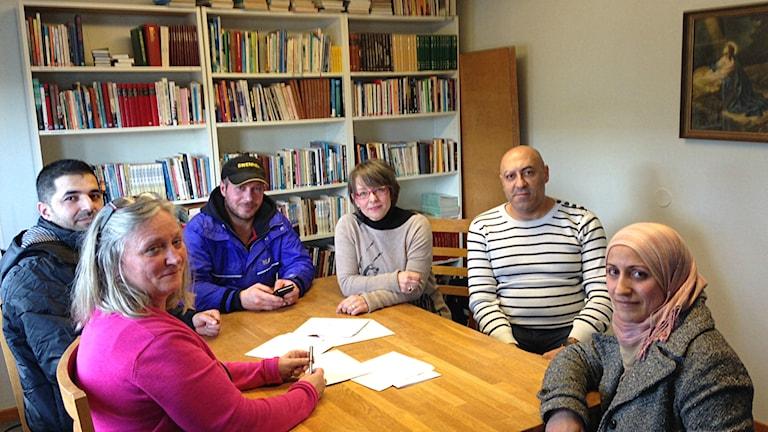 Etableringslotsar och deltagare i Tomelilla