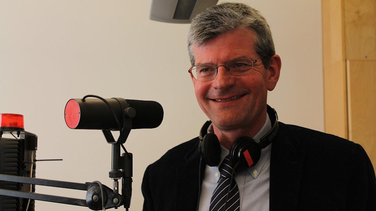 Håkan Pihl, rektor på Högskolan Kristianstad. Foto: Anna Dahlbeck/Sveriges Radio.