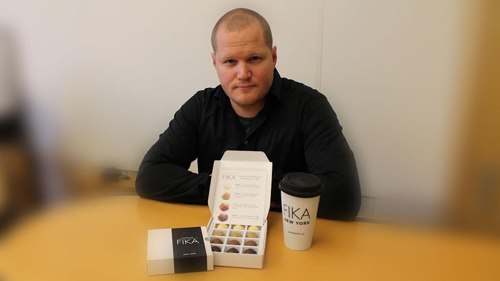 Håkan Mårtensson, chocolatier från Hanaskog