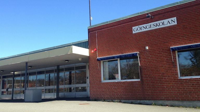 Göingeskolan i Broby. Foto: Anna Dahlbeck/Sveriges Radio.