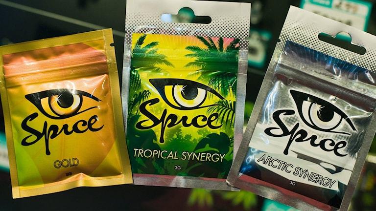 Spice är en cannabisliknande drog. Arkivbild: Patrick Pleul/ TT