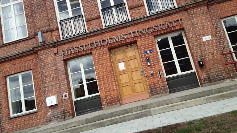 Hässleholms tingsrätt. Foto: Anna Dahlbeck/Sveriges Radio.
