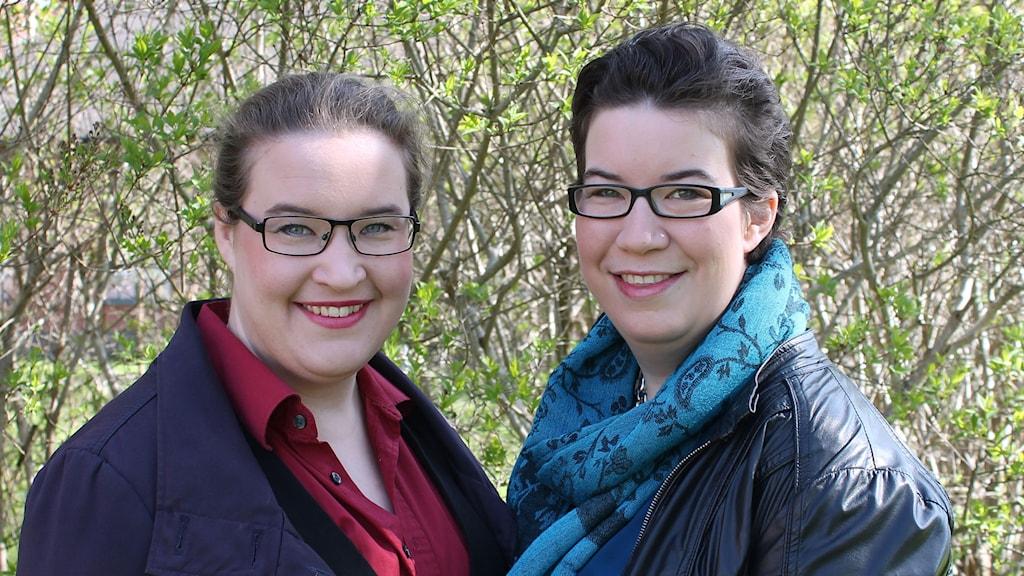 Lina och Johanna Axerup