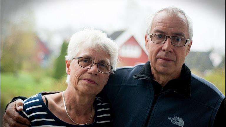 Sara och Bengt Olsson. Foto: Johan Pettersson/Sveriges Radio