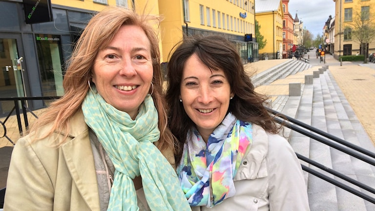 Eures-rådgivarna Viktoria Ay och Jeanette Mauritzon