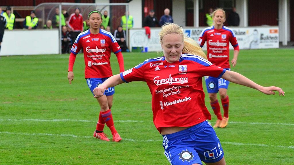 Alexandra Benediktsson. Foto: Per Lundberg/Sveriges Radio