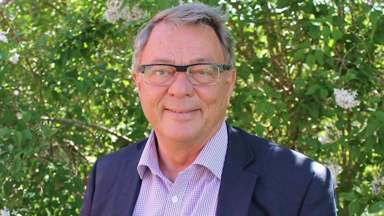 Doktor Benny Ståhlberg, chefläkare vid Skånes universitetssjukhus i Lund och distriktsläkare på vårdcentralen i Tollarp.