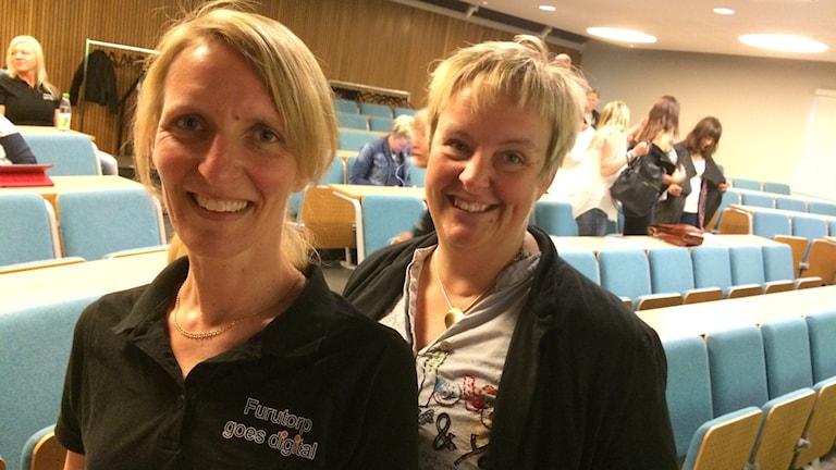 Jenny Edvardsson och Sara Bruun.
