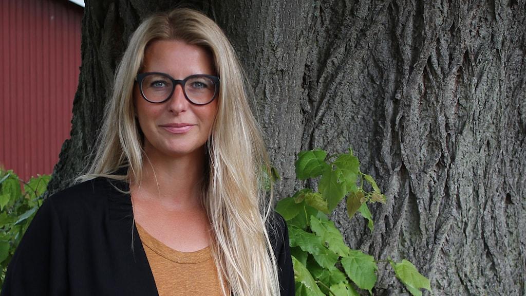 Modejournalisten Carina Adamsberg