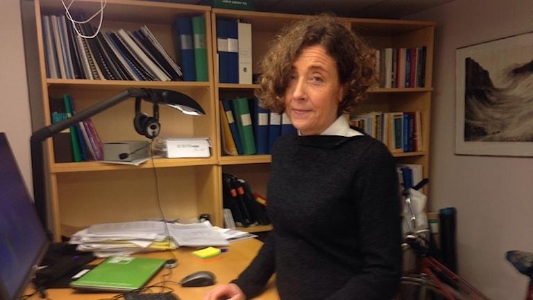 Karin Wendin är professor i mat- och måltidskunskap och forskar kring insekter som mat.