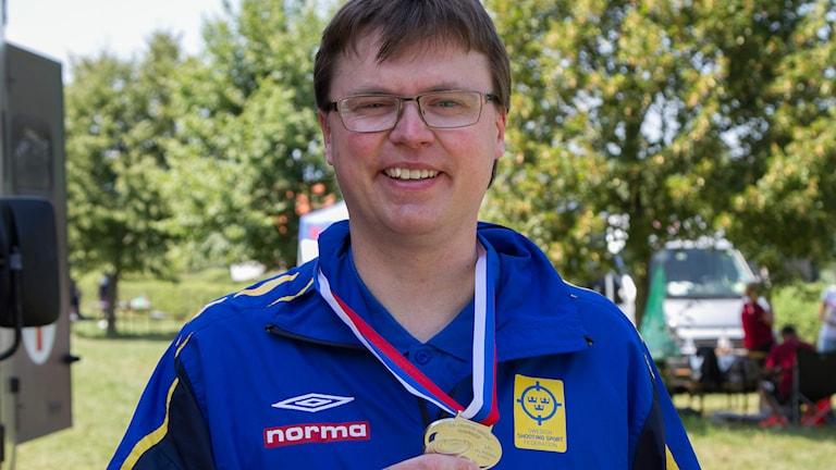 Emil Martinsson i skytte-EM
