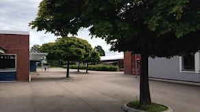 Skolgården på Hasslarödsskolan
