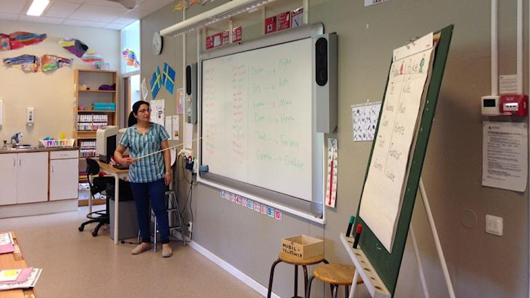 Läraren Ehan Dina Abbod