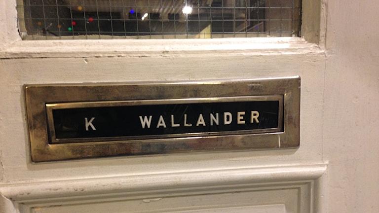 Kurt Wallanders dörr