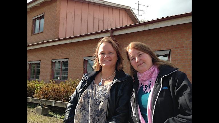 Anna Stensson och Veronica Halberg