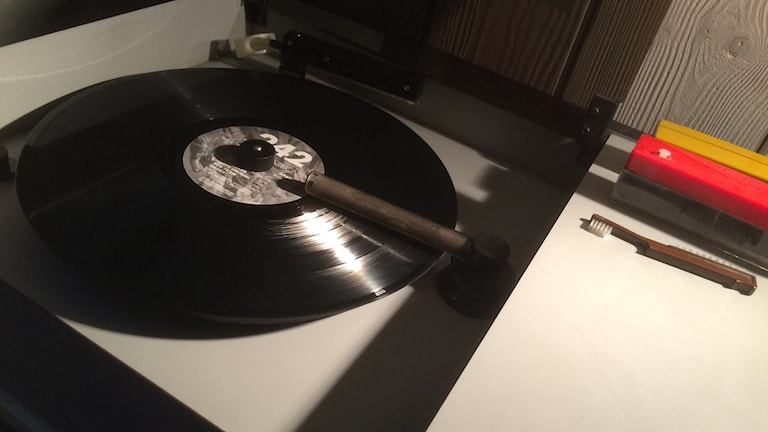 Vinyltvättare.