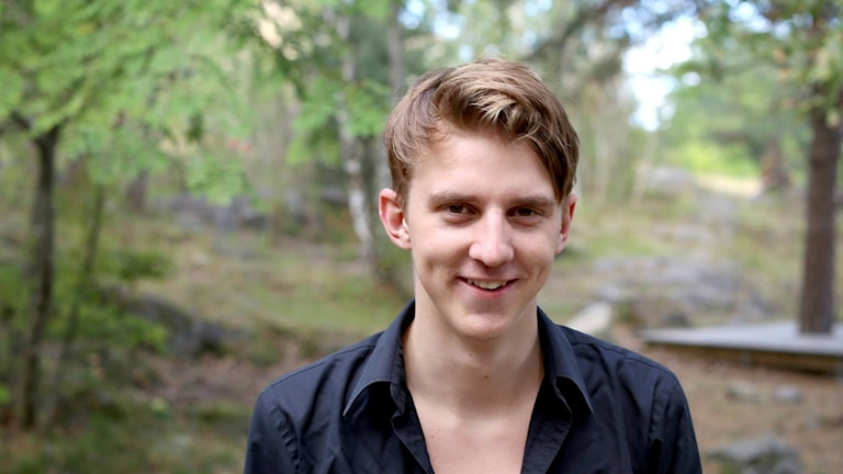 Didrik Persson från Österlen är en av sex initiativtagare till sajten. Foto: privat