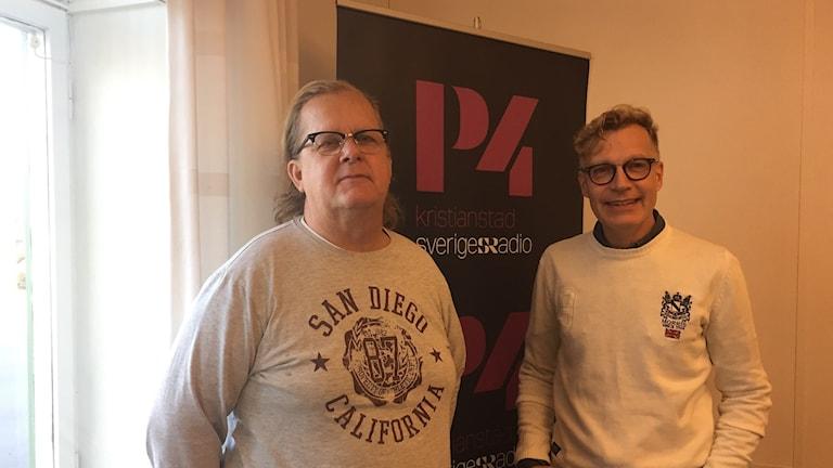 Tommy Karlsson och Eric Iversen från Wizex.