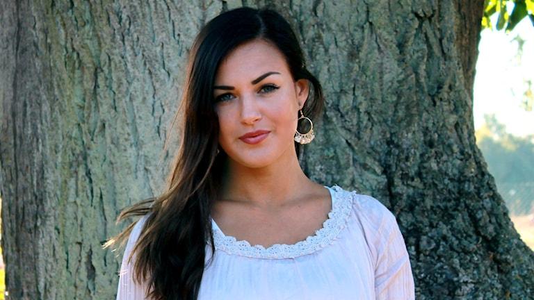 Louise Nevhage deltar i The Bachelor. Foto: Anna Dahlbeck/Sveriges Radio.