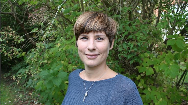 Sofia Stale är överläkare på psykiatriska kliniken i Kristianstad. Foto: Victor Eriksson/Sveriges radio