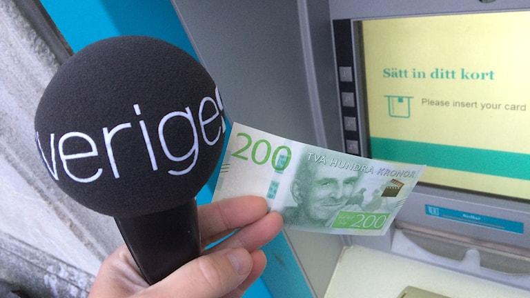 200 kronors sedel.