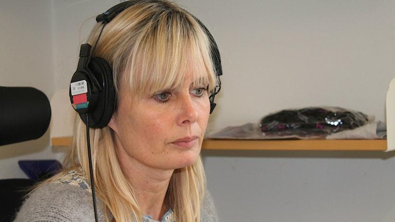 Ulrika Rogland har lyssnat på åklagarens presskonferens och kommenterar den i eftermiddagsprogrammet. Foto: Jenny Sandgren/Sveriges Radio.